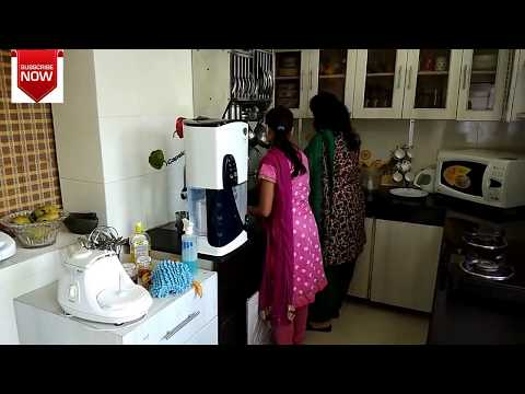 Indian Kitchen Cleaning Routine 2017/ Morning Kitchen Cleaning/ Howto CleanKitchen -monikazz kitchen