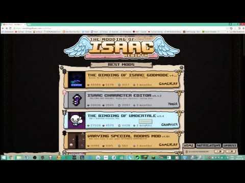 How To Install and Uninstall Binding Of Isaac Mods!