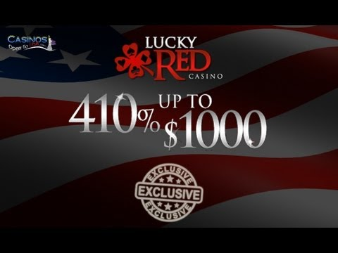 Lucky Red Casino - USA Online Casino - Exclusive Bonus!