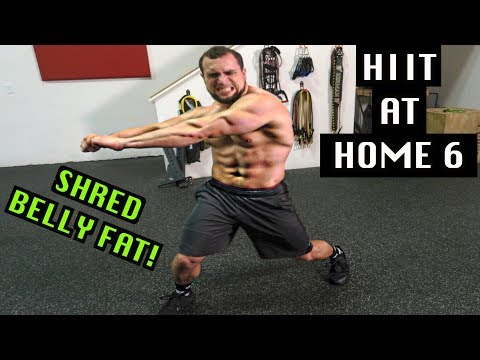 Intense 5 Minute Belly Fat Burning Cardio Abs Workout #6 | HIIT At Home!