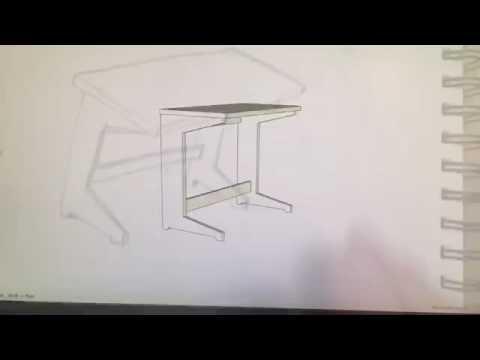 Quick kids desk project