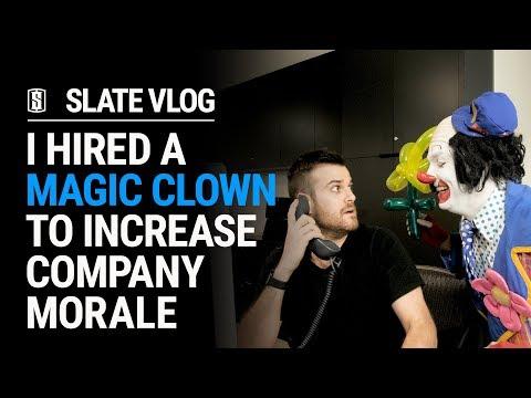 I Hired A Magic Clown To Increase Company Morale