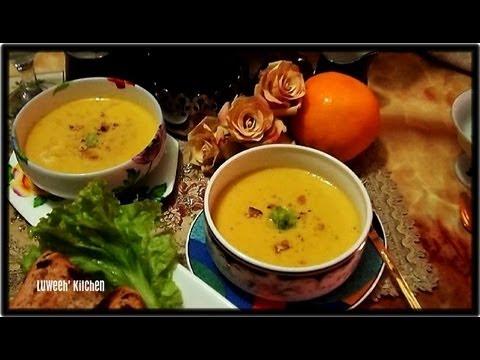 Creamy Kalabasa Mais Soup