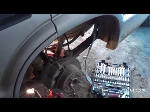 Replace Rear Brake Line,  On a Blazer
