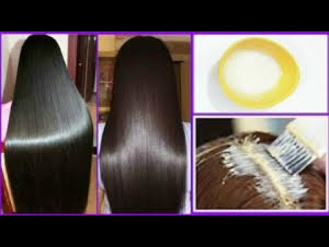 Get super silky soft shiny glossy hair in 1 day ||  DIY Hair Mask -  Deep Conditioner