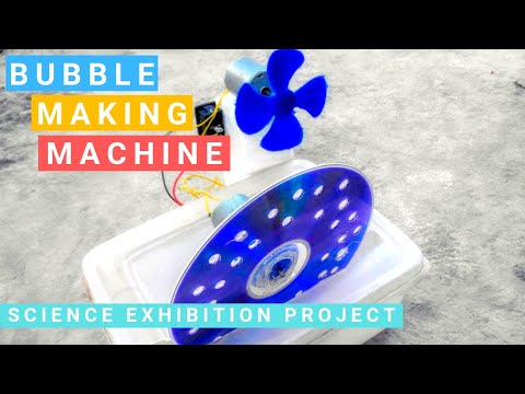 How to Make a Bubble Machine at Home - Automatic Bubble Machine
