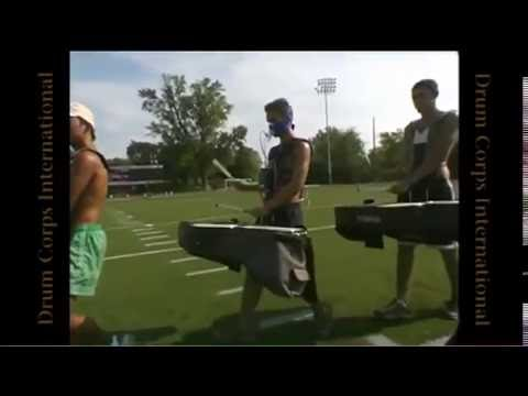 The Athleticism of a Drum Corps marching member