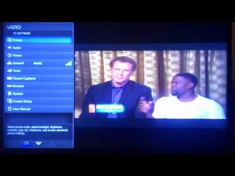 Simple way to put a caption on Vizio TV