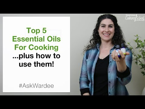 Top 5 Essential Oils For Cooking | #AskWardee 108