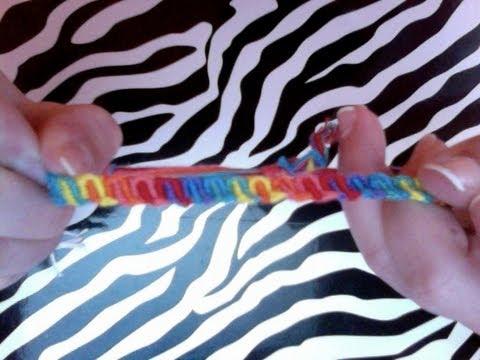 How to make friendship bracelets: Candy Wave