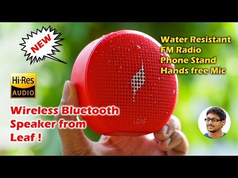 Leaf Pop Mini Bluetooth Speaker Unboxing & Review!