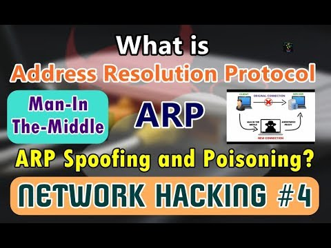 [HINDI] Address Resolution Protocol? | ARP Spoofing/Poisoning | Man-In-The-Middle Attacks Explained