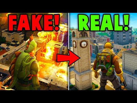 TILTED TOWERS IS *NOT* GETTING DESTROYED BY A METEOR EVER! (Fortnite Battle Royale)