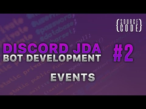 Discord JDA Bot Development - Events - Episode 2