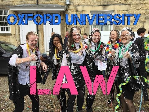 LAW AT OXFORD UNIVERSITY + APPLICATION PROCESS