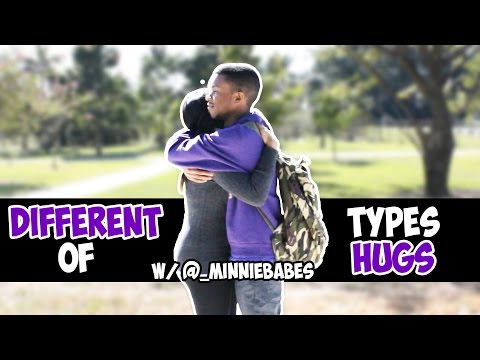 Different Types of Hugs - @AyeTeeYNFR