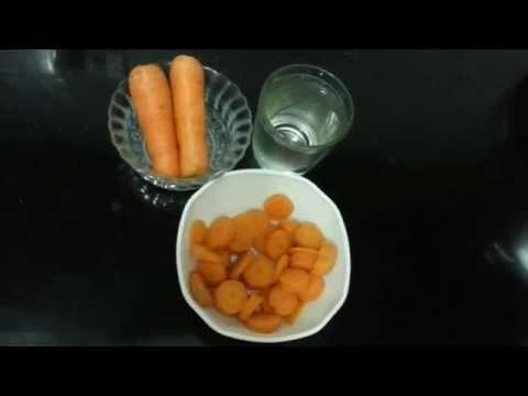Carrot Puree for babies (Tamil) with english sub titles