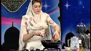 "Quick Sehri with Samia Jamil ""Anda Ghutala with Parathy"" Part 01 of 02 at Zaiqa Tv"