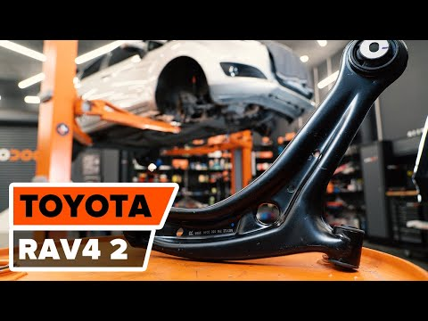 How to replacefront lower arm onTOYOTA RAV4 TUTORIAL   AUTODOC
