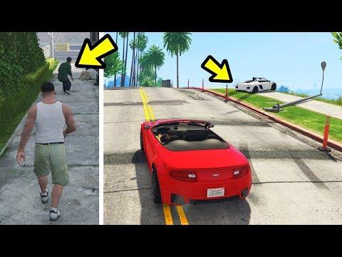 GTA 5 - What happens if you burst Lamar's tires?
