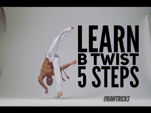 5 Easy steps to B Twist capoeira training