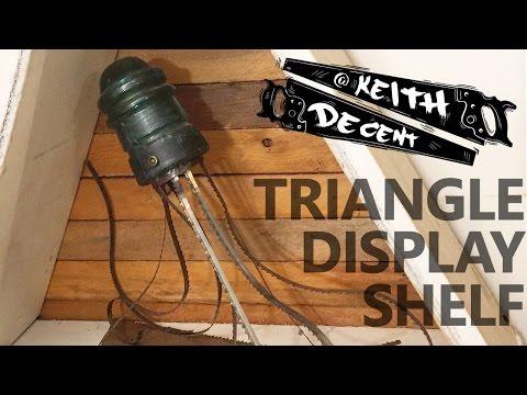 A Decent Project - Triangle Display Shelf