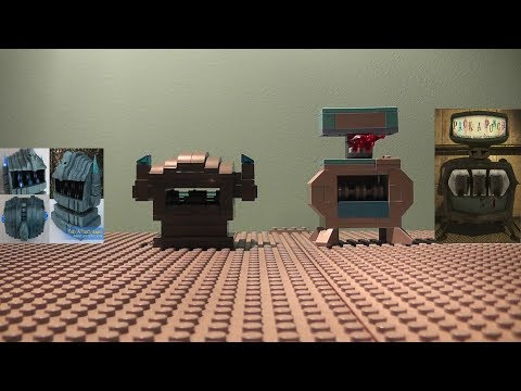 Lego Zombies Perk Machines Pack-A-Punch/Origins Pack-A-Punch With Instructions