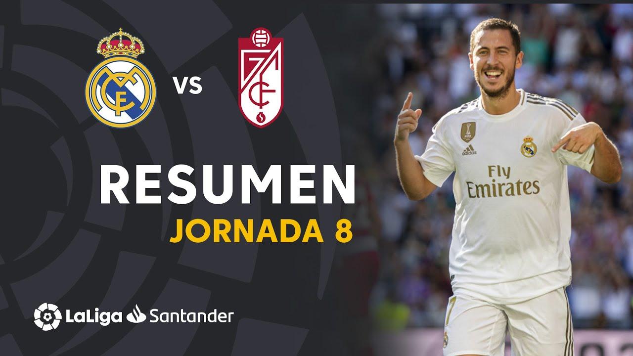 Resumen de Real Madrid vs Granada CF (4-2)