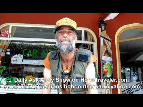 Man Using Fishing Vest for Travel Backpack #travelgear