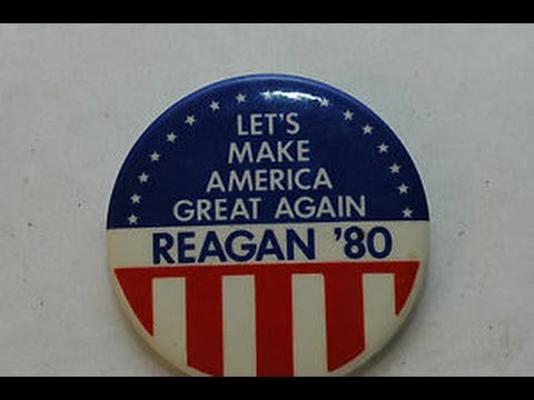 Donald Trump Claims Reagan Slogan as His Own Creation!