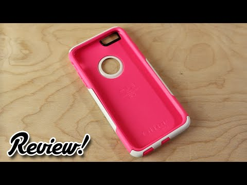 Review: OtterBox iPhone 6/6s Plus Case - Commuter Series (Neon Rose)