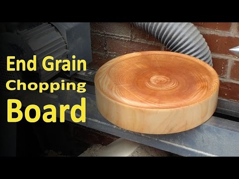 End Grain Chopping Board (The Easy Way)