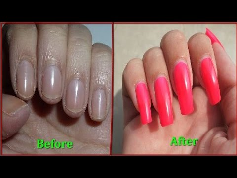 How To Make Nails Stronger And Grow Faster - With Proof !