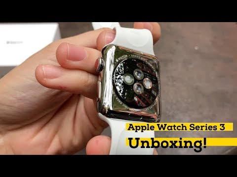 Apple Watch Series 3 with LTE unboxing! [iMore]