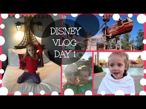 DISNEY TRAVEL VLOG - Caribbean Beach Resort during construction with kids