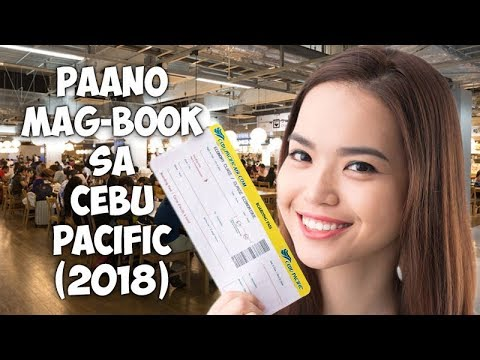 How to Buy Cebu Pacific Tickets 2018