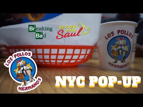 Los Pollos Hermanos NYC Pop-Up Visit | Breaking Bad/Better Call Saul