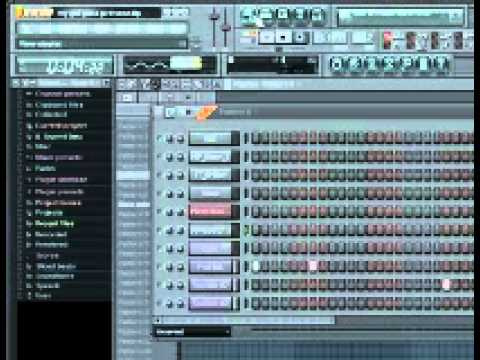 Tutorial - How to make a freestyle beat with superbass in fl studio