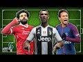 أقوى 5 خطوط هجوم كرة القدم في العالم..!! ثلاثي المليار يورو