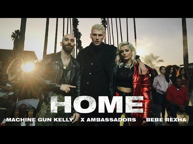 "Machine Gun Kelly, X Ambassadors & Bebe Rexha - Home (From the Film ""Bright"")"