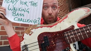 Learn how to play walking bass lines... in less than 10 minutes!