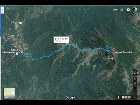 How to find a hiking trail or a trekking trail on Google maps