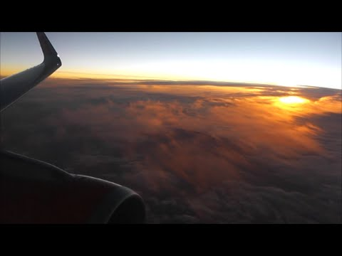 EasyJet Airbus A320-214 | London Luton to Palma Mallorca *Full Flight*