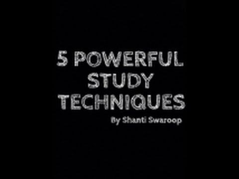 5 Powerful Study Techniques (Telugu)