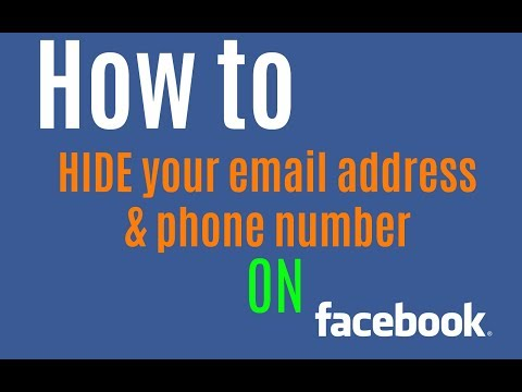 How to Hide Your Email on Facebook