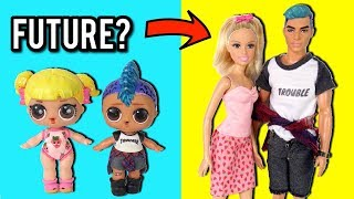 Download LOL Dolls Baby Goldie & Punk Boi All Grown Up! - New LOL Family Video