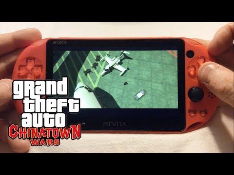 PSVita: GTA Chinatown Wars PSP Gameplay
