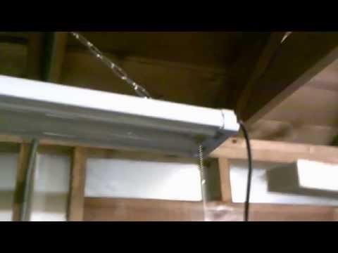 Shop Light Installation