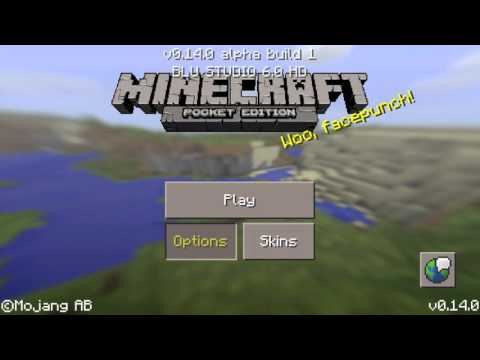 Minecraft Pocket Edition 0.14.0 Build 1 First Look