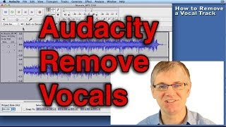 Audacity Tutorial How to Remove Vocals Track from a Song Tutorial | Record Singing mp3